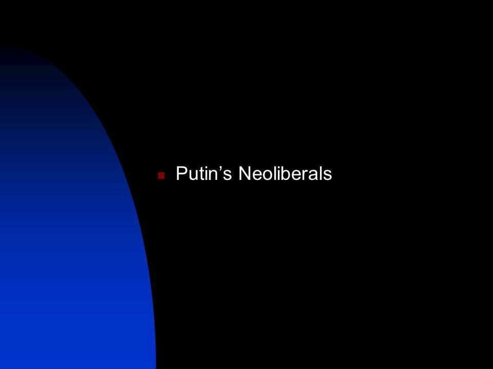 Putin's Neoliberals