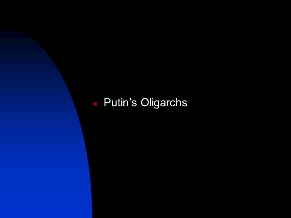 Putin's Oligarchs
