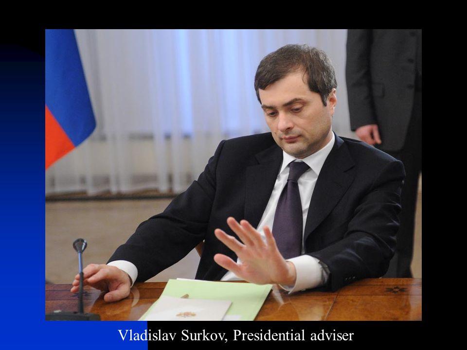Vladislav Surkov, Presidential adviser