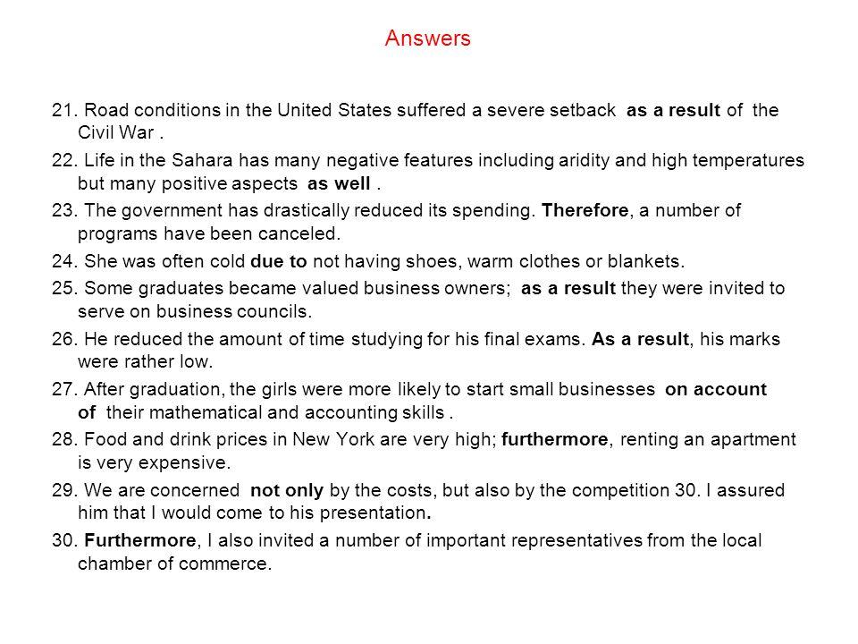 Answers 21.