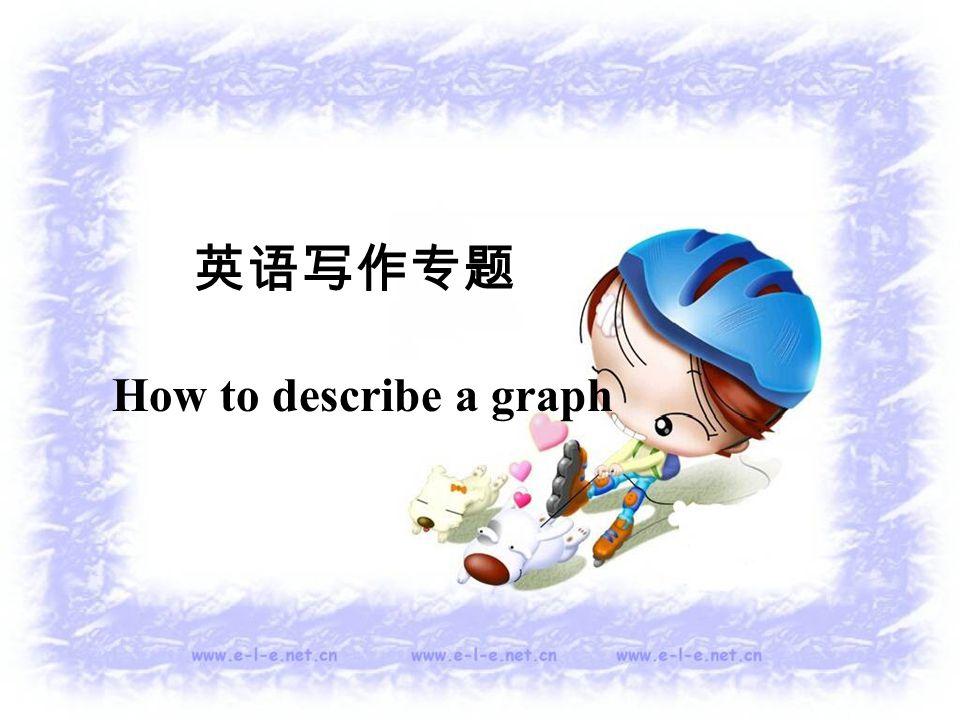 英语写作专题 How to describe a graph