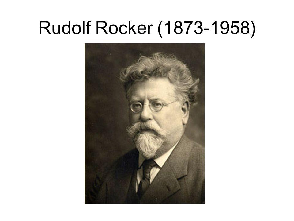 Rudolf Rocker (1873-1958)