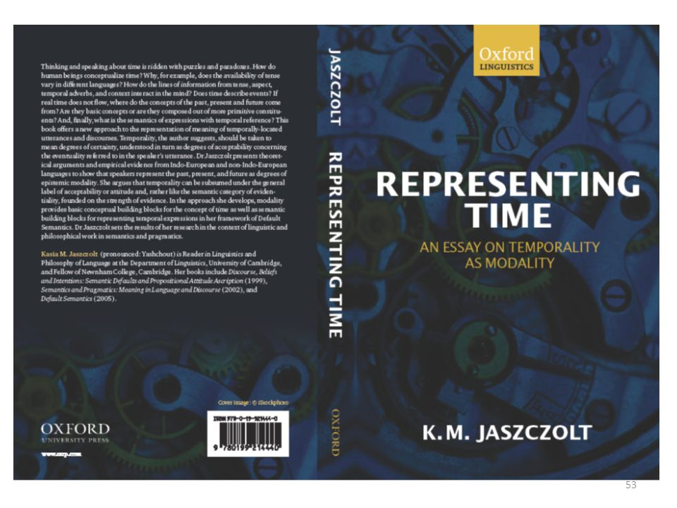 Time in discourse 52