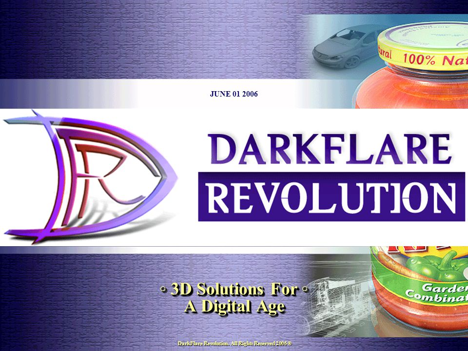 DarkFlare Revolution. 1563 Eastern Pkwy Suite A Bklyn, NY 11233 Tel: 917-664-8552 E-mail: darkflarerev.com 06/01/2006 17 DarkFlare Revolution. All Rig
