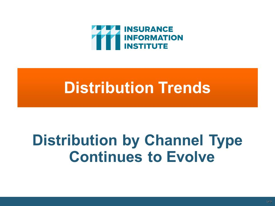 142 Distribution Trends Distribution by Channel Type Continues to Evolve 12/01/09 - 9pm 142