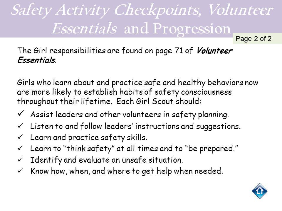 Evaluation example 3 For older girls Troop Trip Evaluation: 2012–2013 Troop Trips 1.