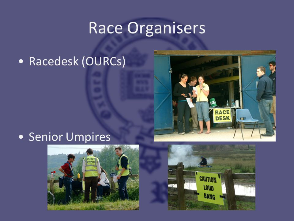 Race Organisers Racedesk (OURCs) Senior Umpires