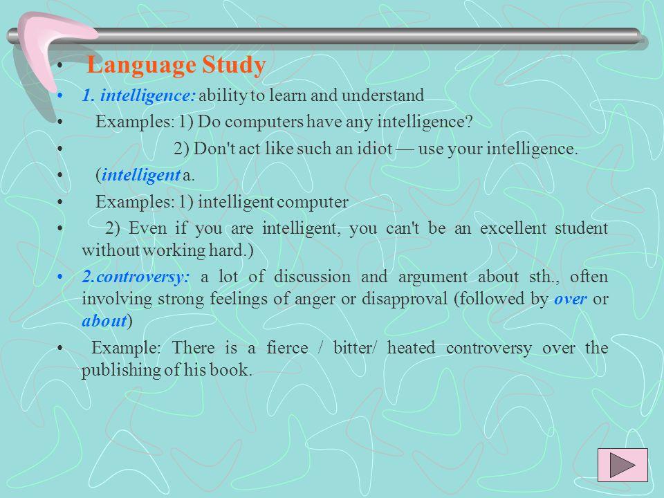 Language Study 1.
