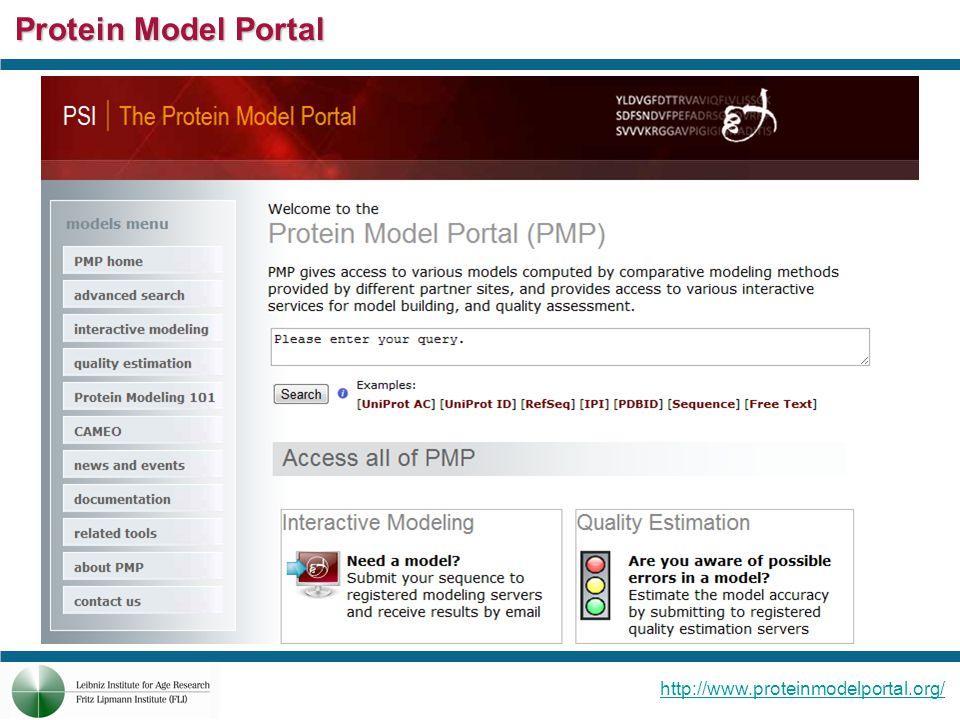Protein Model Portal http://www.proteinmodelportal.org/