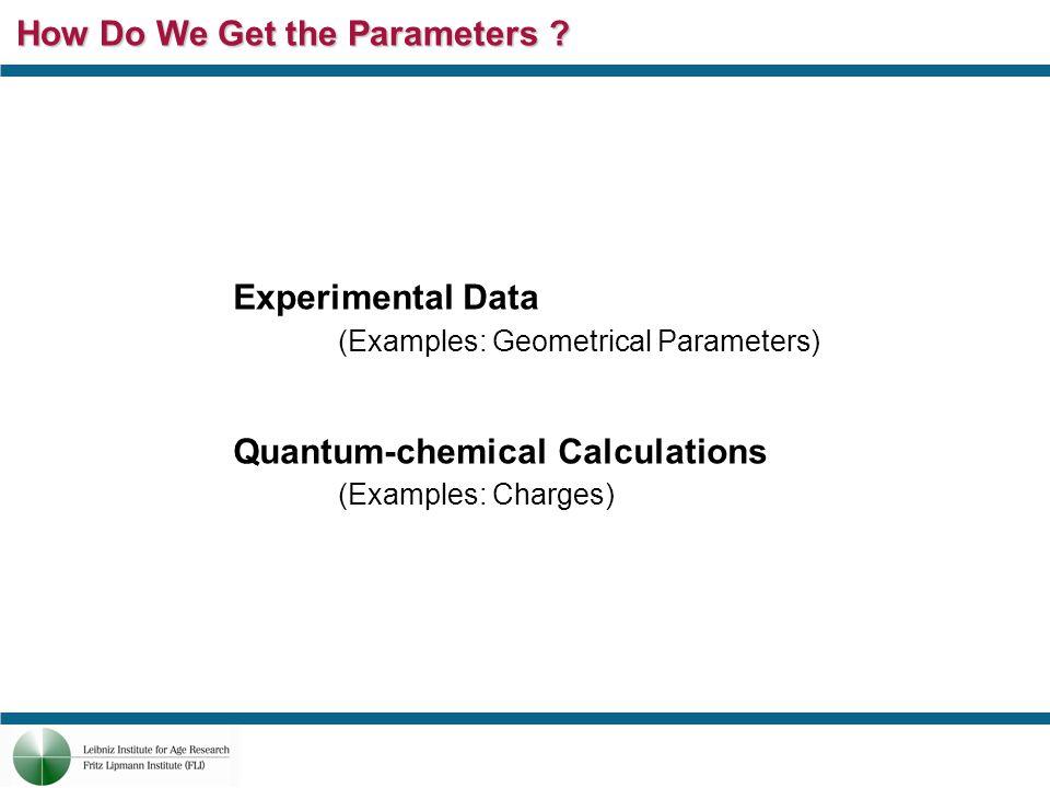 How Do We Get the Parameters .