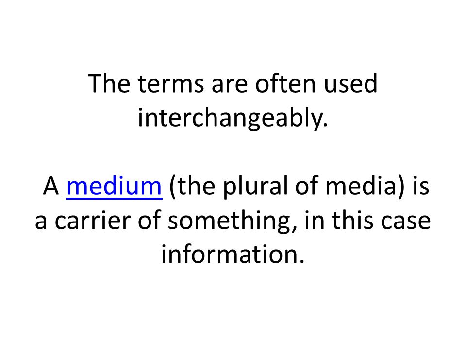 The terms are often used interchangeably.