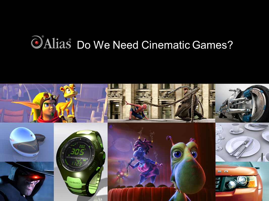 Do We Need Cinematic Games