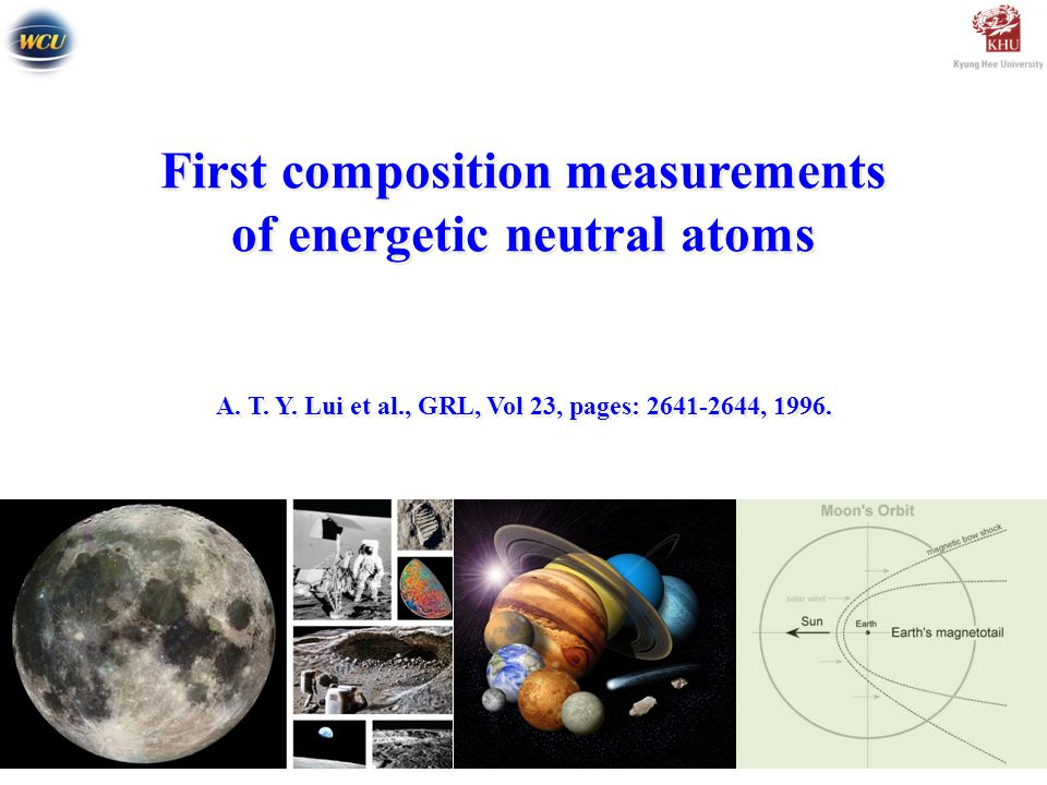 First composition measurements of energetic neutral atoms A.
