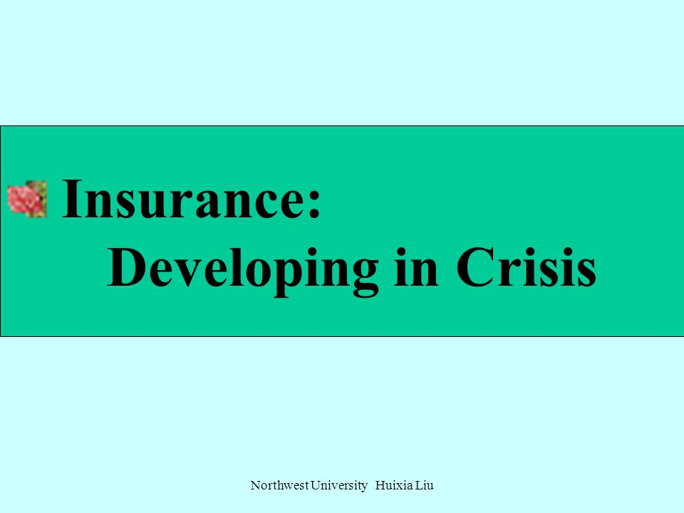 Contents Insurance: developing in crisis Insurance: integration and breakthrough in competition Insurance: innovation against challenges The status, p