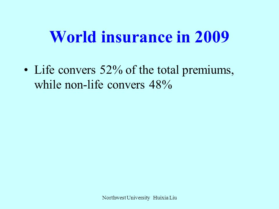 World insurance in 2009 The drop in world premiums largely reflects declines in the markets of industrialized countries, as contrasted with growth in