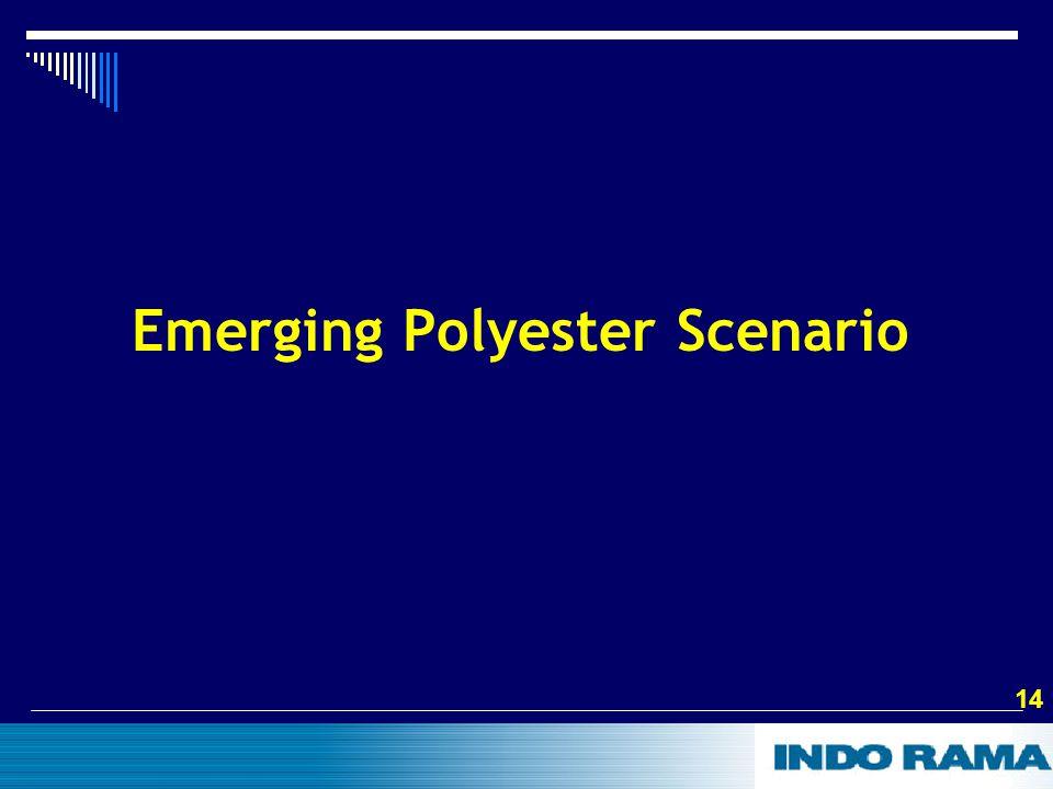 14 Emerging Polyester Scenario