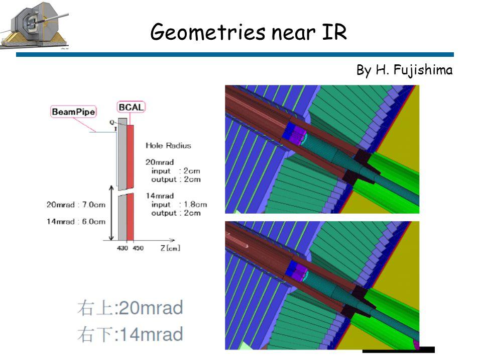 Geometries near IR By H. Fujishima