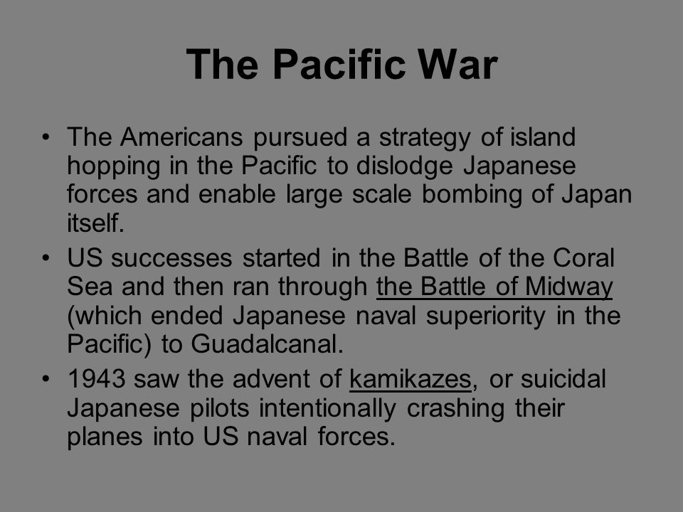 Japanese Expansion In 1940 Japan gained a military foothold in northern Indochina (present day Vietnam). The US retaliated by imposing an embargo on t