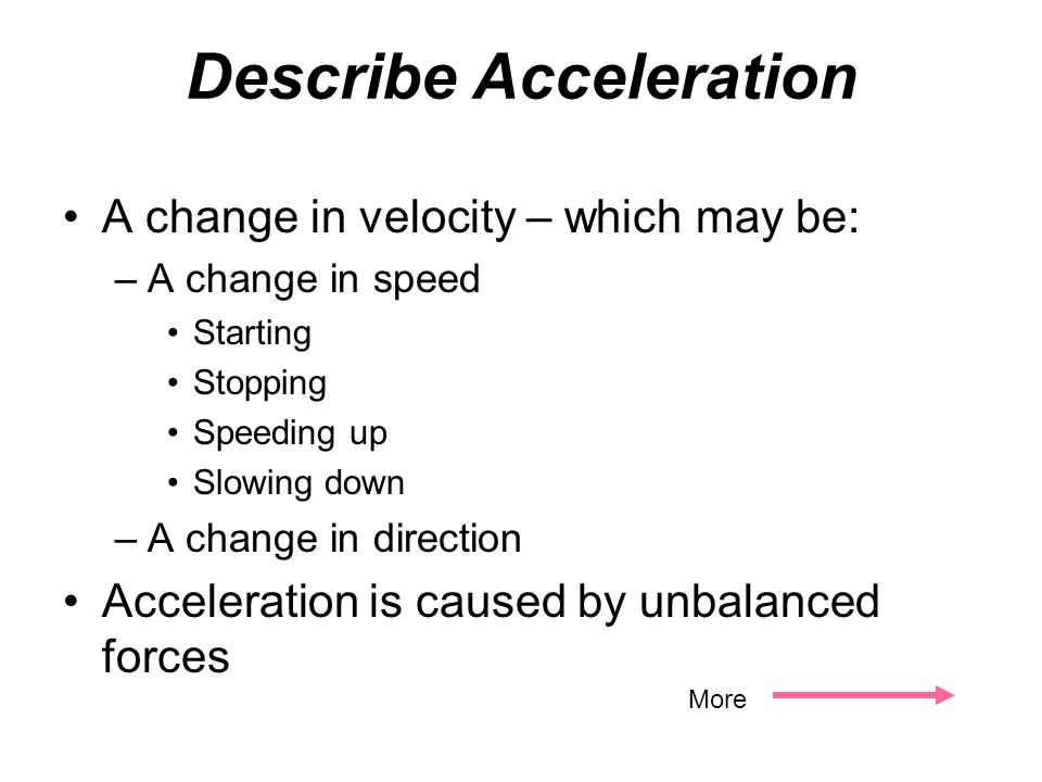 The distance an object moves in a certain amount of time is called _________. speed