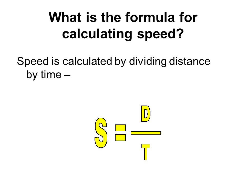 Calculate This Speed A football field is about 100 m long.