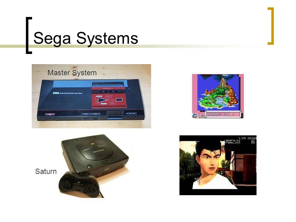 Sega Systems Master System Saturn