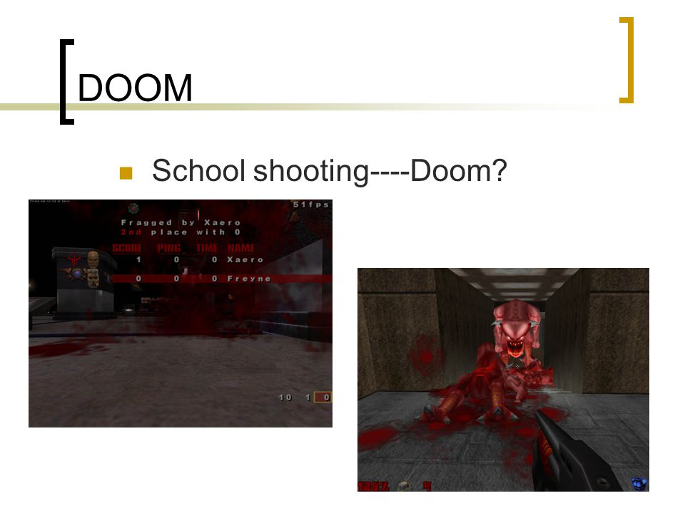 DOOM School shooting----Doom