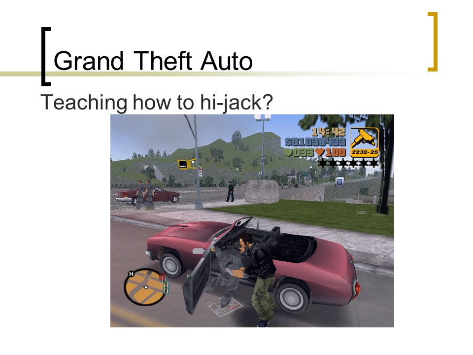 Grand Theft Auto Teaching how to hi-jack