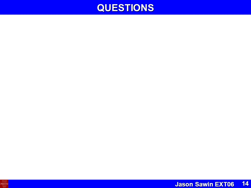 Jason Sawin EXT06 14QUESTIONS