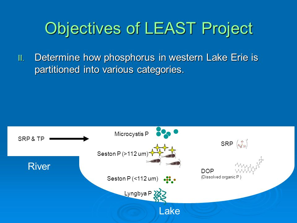 Objectives of LEAST Project II.