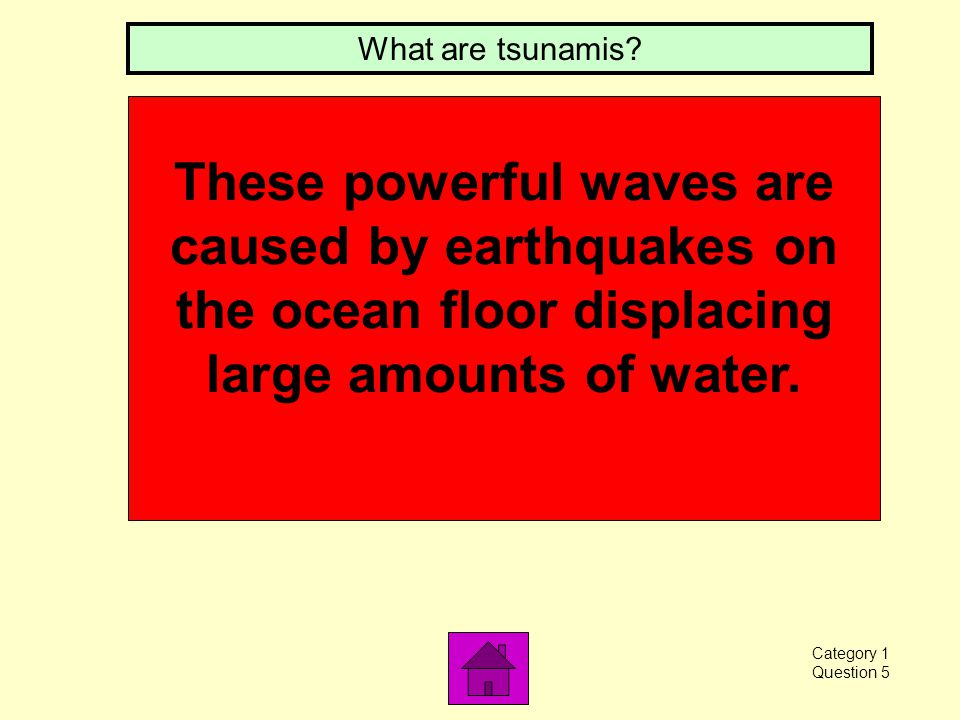 In shallow water, this increases. What is wave height Category 1 Question 4