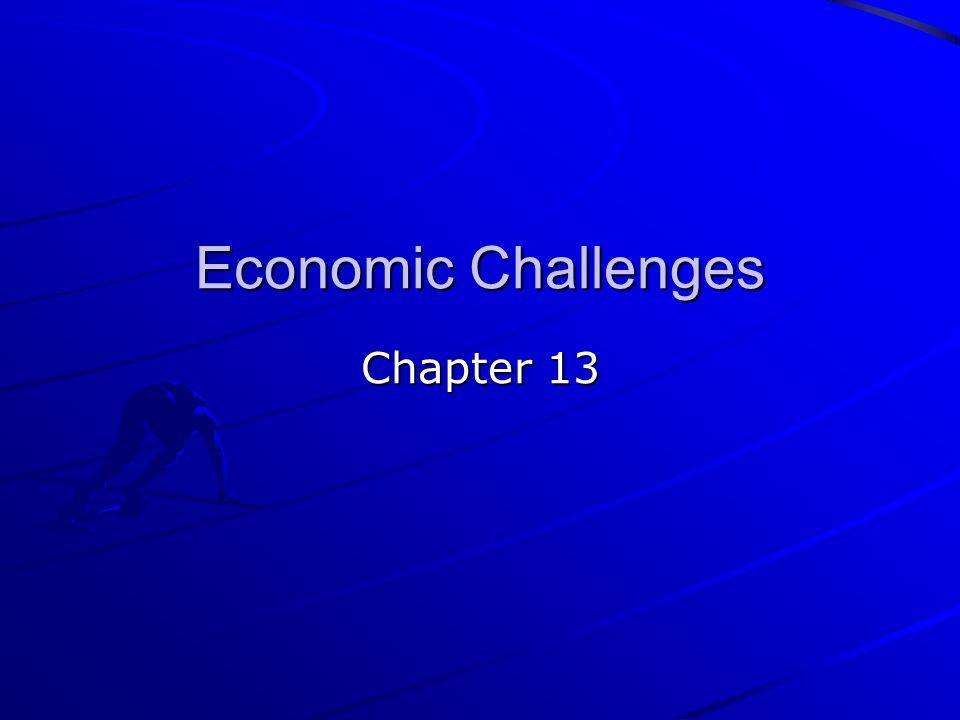Economic Challenges Chapter 13