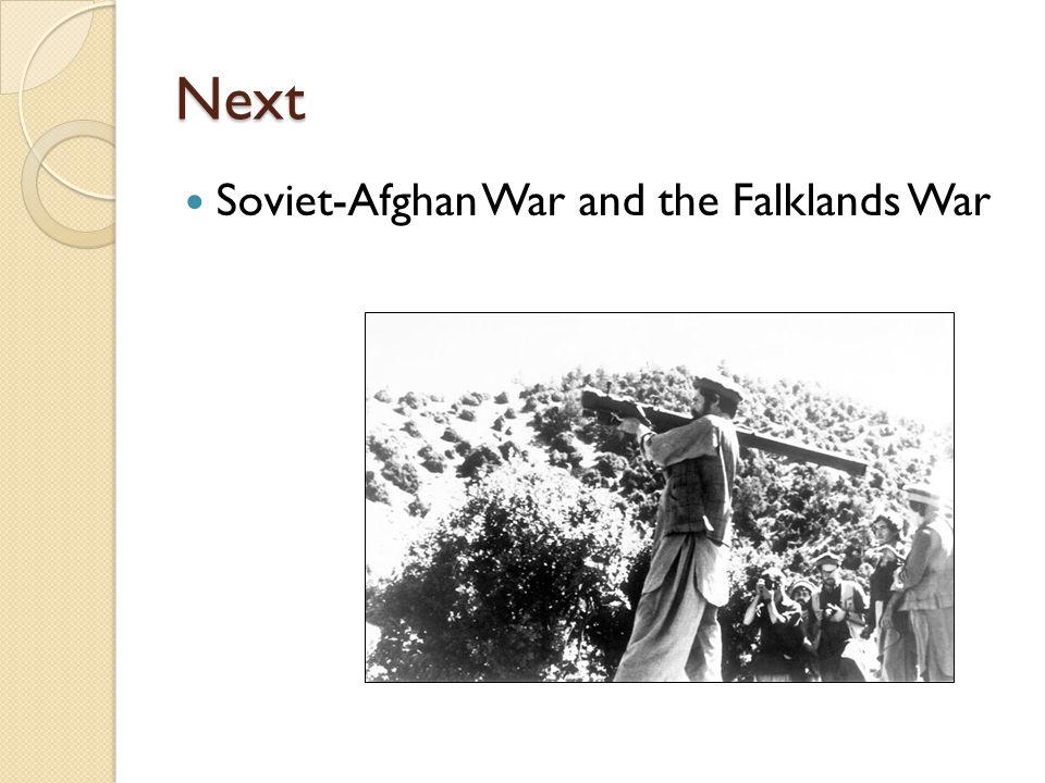 Next Soviet-Afghan War and the Falklands War