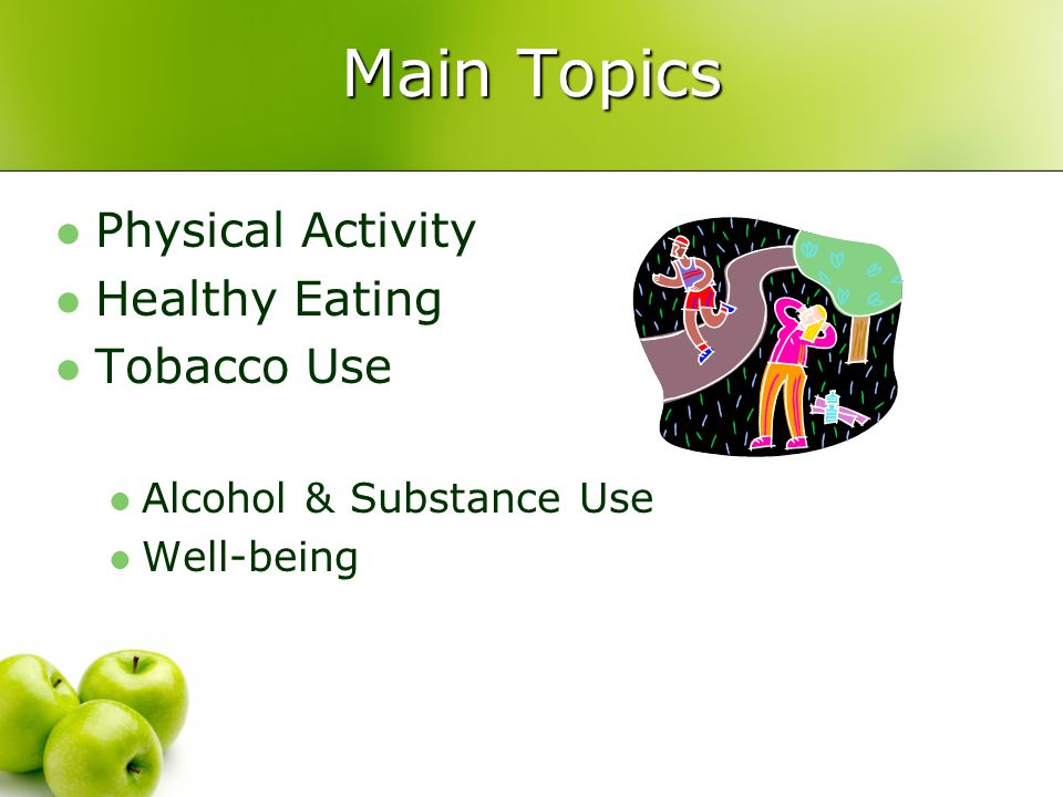 Prevention should enhance protective factors and minimize risk factors Prevention should include family, schools, and community Characteristics of successful programs: Parents and wider community involved Instruction based on expressed student needs Peer leaders hold promise for health instruction Classroom teachers play a central role Social skills are superior to factual information alone in achieving improvements How To Take Action