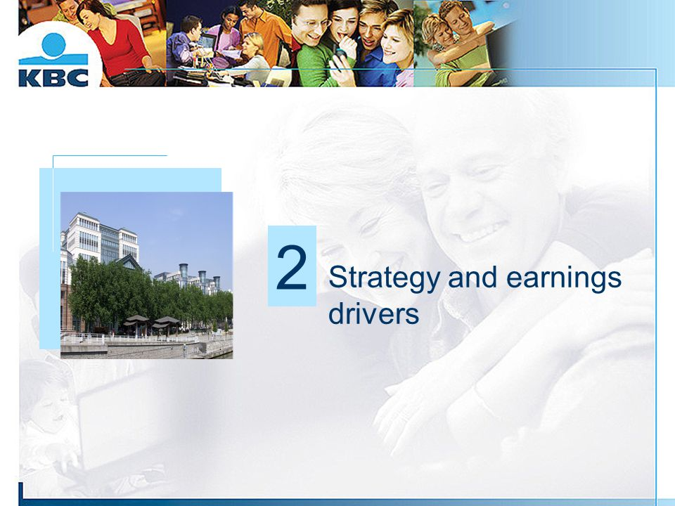 Strategy and earnings drivers Foto gebouw 2