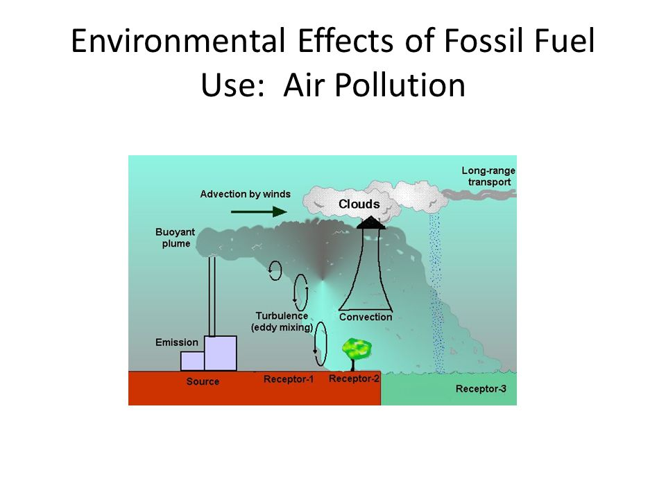 Environmental Effects of Fossil Fuel Use: Air Pollution