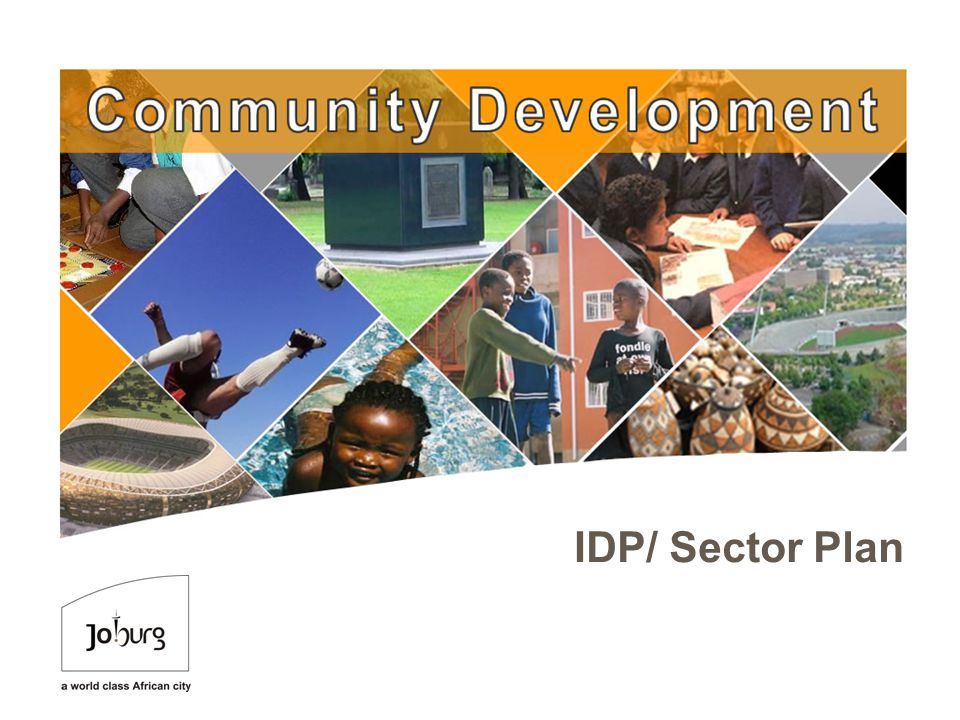 M IDP/ Sector Plan