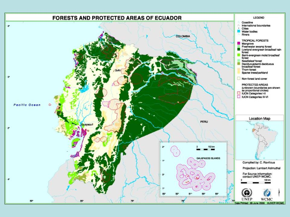 Choco-Andes Corridor Conserving biodiversity and livelihoods in two globally important hotspots of biodiversity, the lowland choco and the western Andes slopes C.