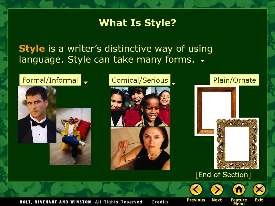 What Is Style.