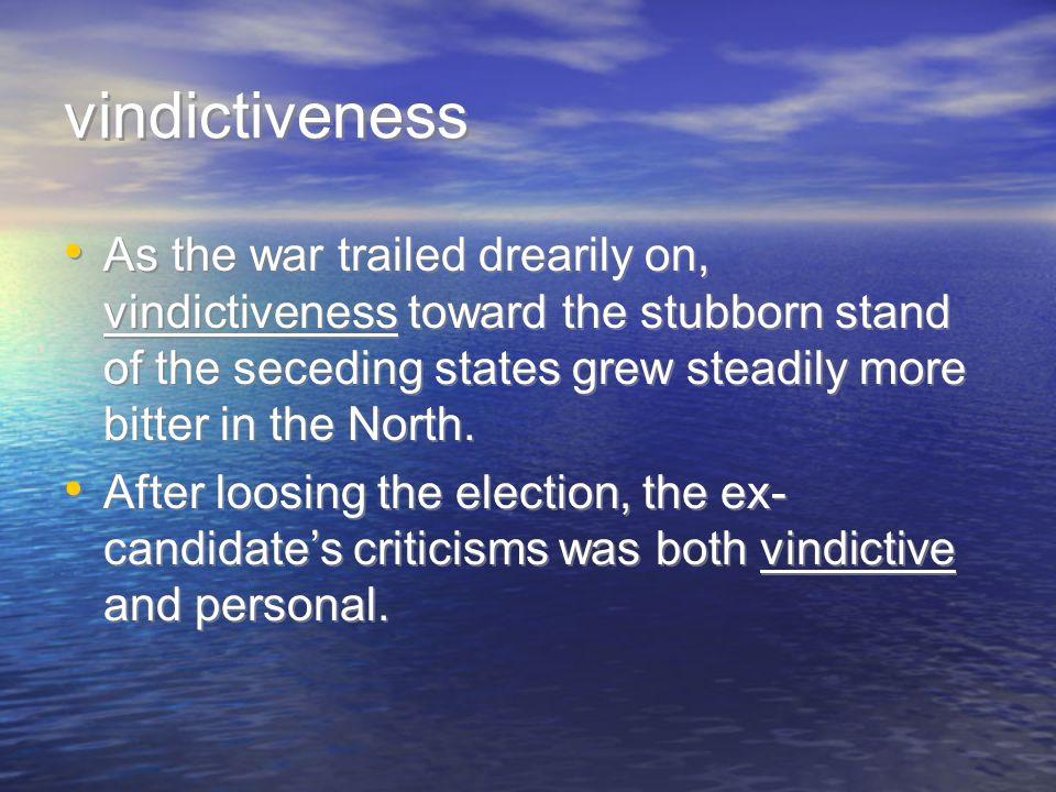 vindictiveness pg.