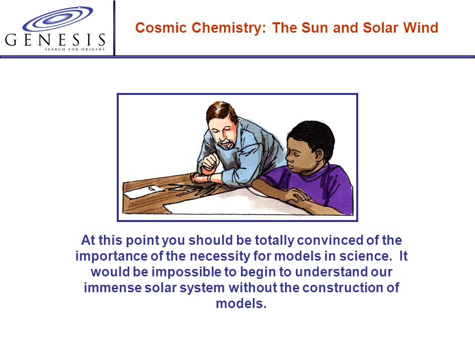 Cosmic Chemistry: The Sun and Solar Wind Since the Standard Solar Model provides estimates of the temperature profile of the sun, it is possible to ca
