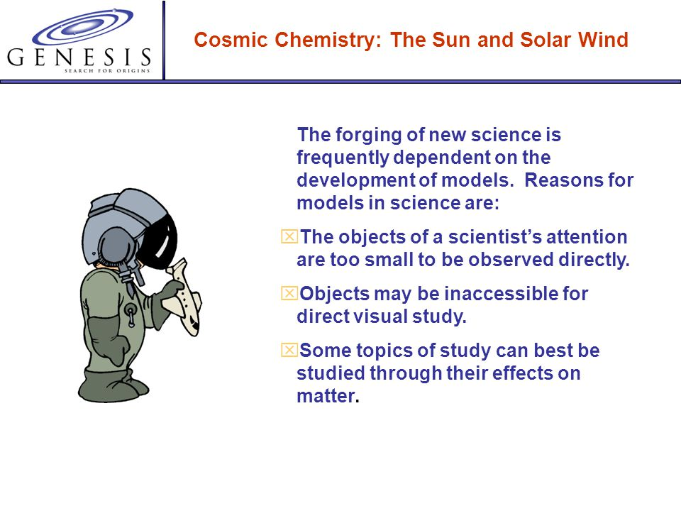 Cosmic Chemistry: The Sun and Solar Wind Models in Science: Modeling the Sun