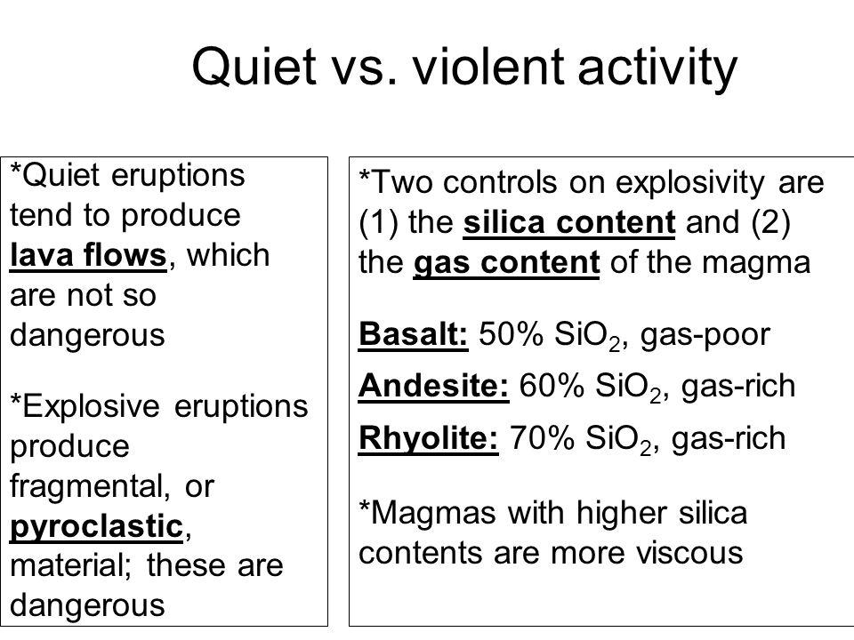 Quiet vs.