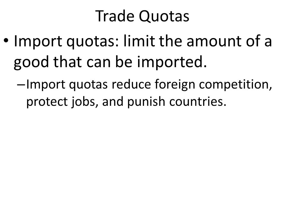 International Trade Why trade – Increases our standard of living and allows us to have more than what we can produce – Through specialization we can have more