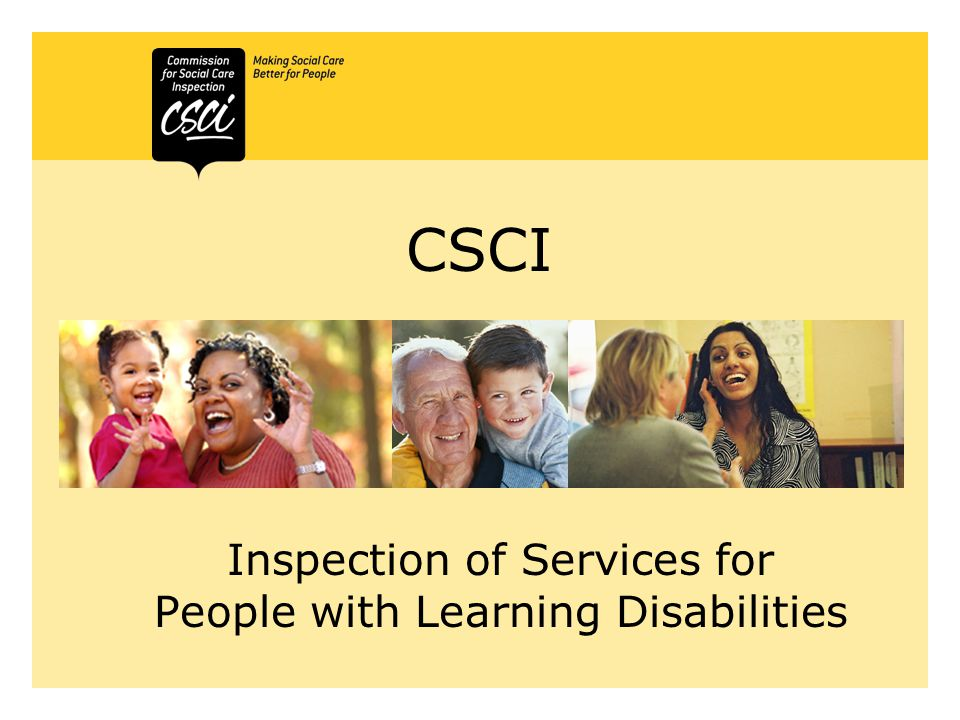 Inspection of Services for People with Learning Disabilities 6 th -17 th February 2006