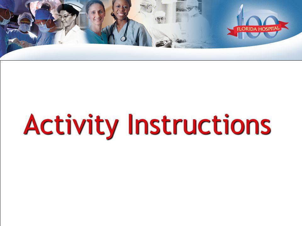 Activity Instructions