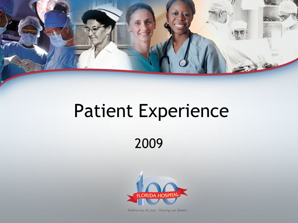 Patient Experience 2009