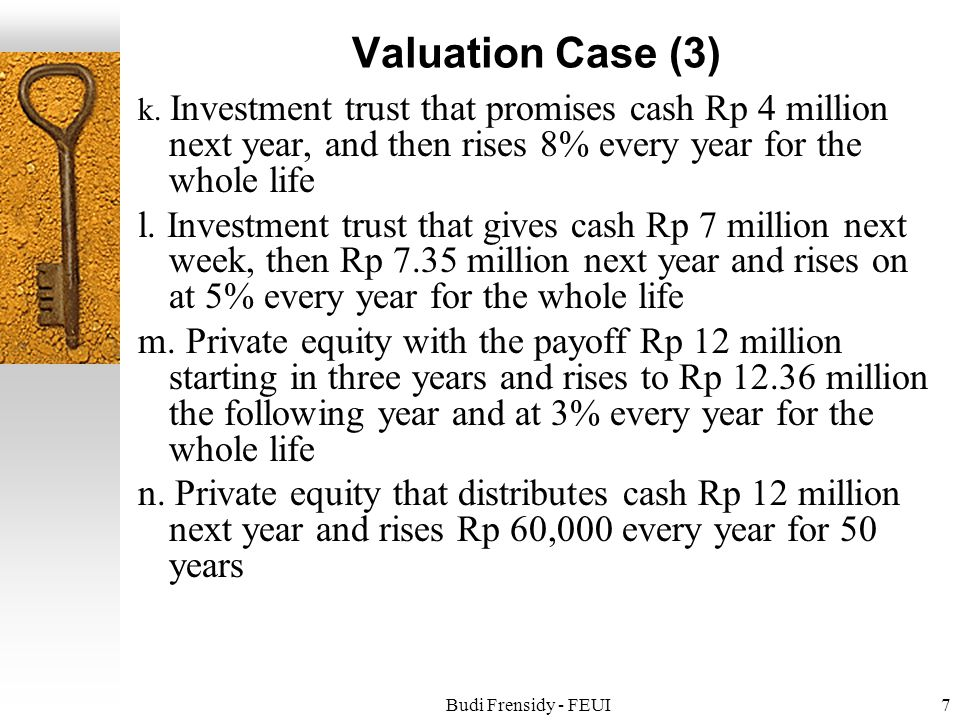 Budi Frensidy - FEUI7 Valuation Case (3) k.