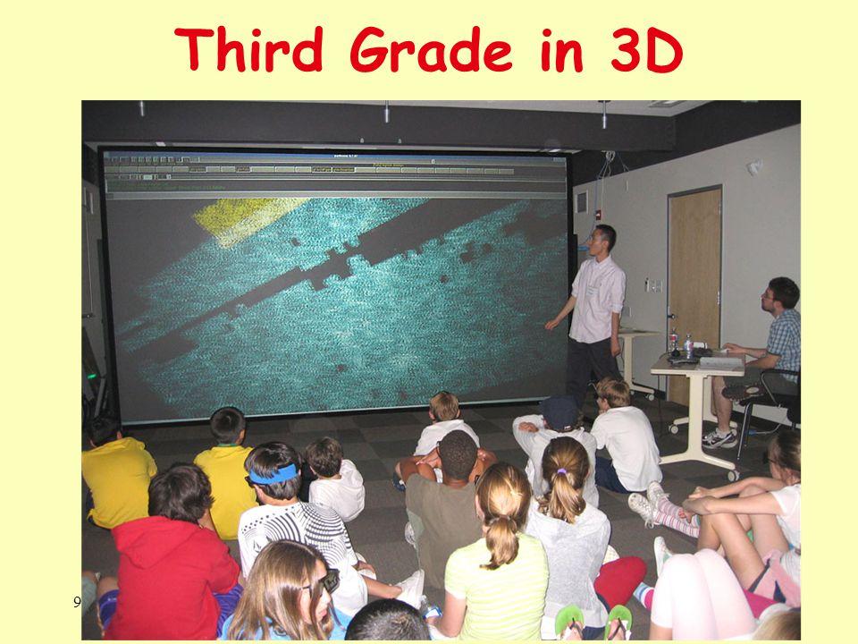 Third Grade in 3D 9 v 2012Kavli IPMU14