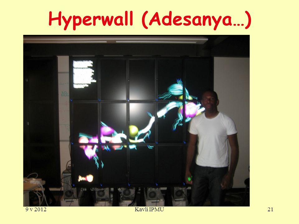 Hyperwall (Adesanya…) 9 v 2012Kavli IPMU21