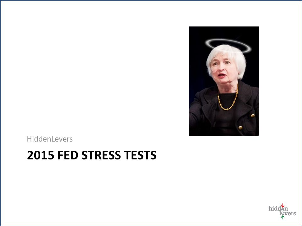 2015 FED STRESS TESTS HiddenLevers